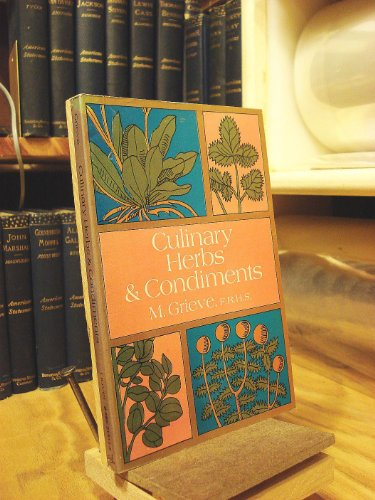 9780486215136: Culinary Herbs and Condiments