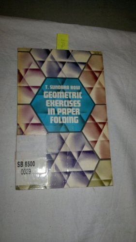 9780486215945: Geometric Exercises in Paper Folding