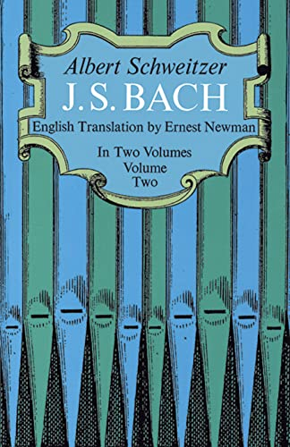9780486216324: J. S. Bach, Volume Two: 002 (Dover Books on Music)