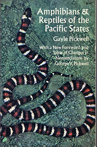 9780486216867: Amphibians and Reptiles of the Pacific States