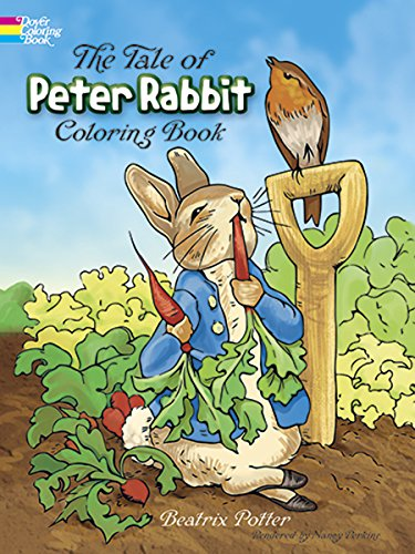 9780486217116: The Tale of Peter Rabbit: A Coloring Book (Dover Coloring Books)
