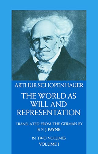 9780486217611: The World as Will and Representation, Vol. 1