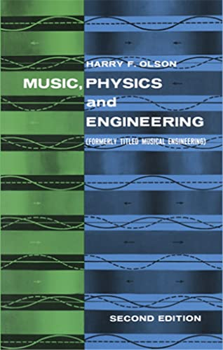 9780486217697: Music, Physics and Engineering