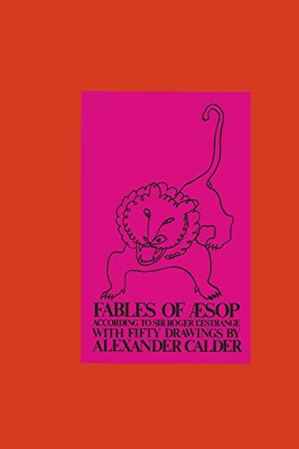 9780486217802: Fables of Aesop According to Sir Roger L'Estrange, with Fifty Drawings by Alexander Calder