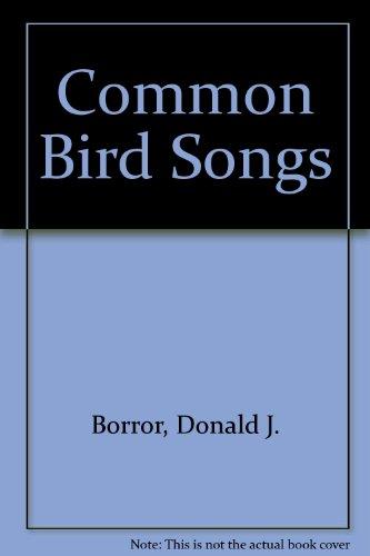 9780486218298: Common Bird Songs