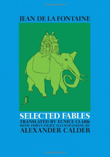 9780486218786: Selected Fables of Jean de la Fontaine