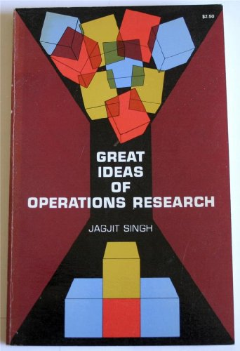9780486218861: Great Ideas of Operations Research