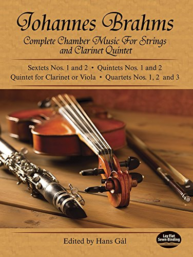 9780486219141: Brahms: Complete Chamber Music For Strings And Clarinet Quintet (Dover Chamber Music Scores)