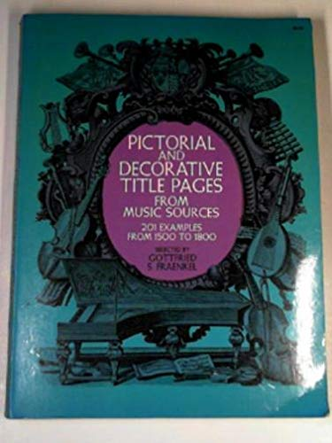 Decorative Music Title Pages