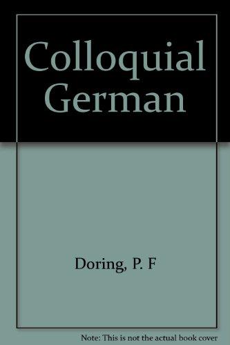 9780486219202: Colloquial German