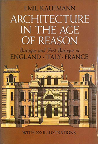 9780486219288: Architecture in the Age of Reason