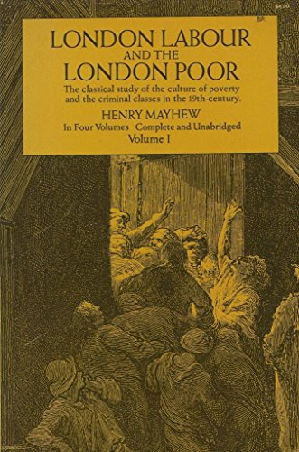 9780486219349: London Labour and the London Poor: v. 1