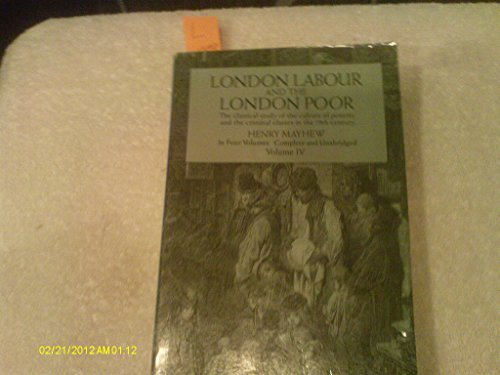 9780486219370: London Labour and the London Poor: v. 4