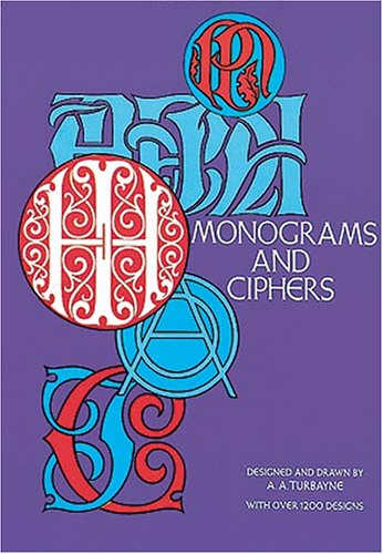 9780486221823: Monograms and Ciphers (Dover Pictorial Archives)