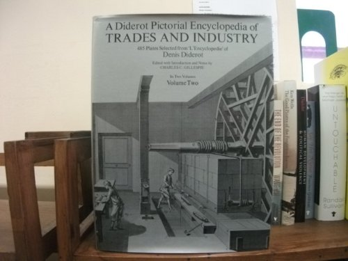 A DIDEROT PICTORIAL ENCYCLOPEDIA OF TRADES AND INDUSTRY,485 plates,volume 2: diderot,denis