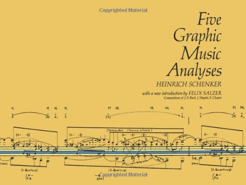 9780486222943: Five Graphic Music Analyses (Dover Books on Music)