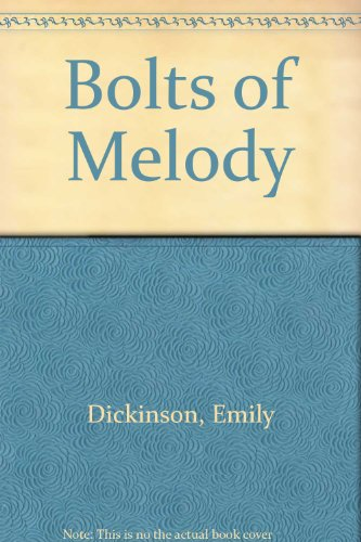 9780486222998: Bolts of Melody