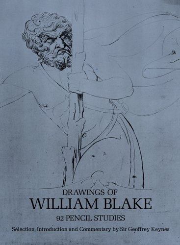 9780486223032: Drawings of William Blake: 92 Pencil Studies (Dover Fine Art, History of Art)