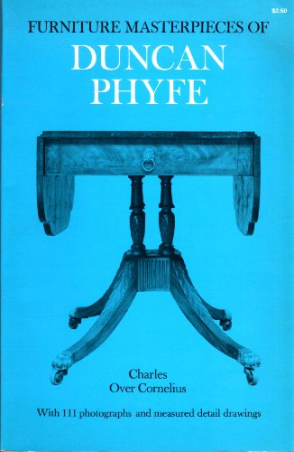 Furniture Masterpieces of Duncan Phyfe: Coenelius, Charles Over