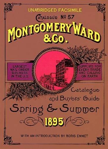 9780486223773: Montgomery Ward Catalogue of 1895 (Dover Pictorial Archive)