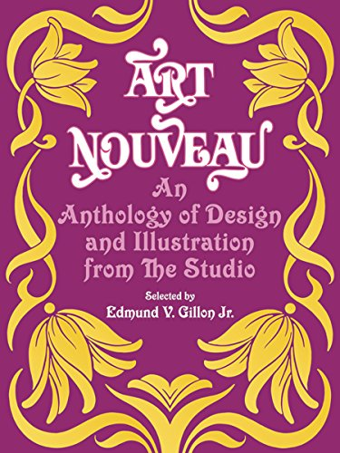 9780486223889: Art Nouveau: An Anthology of Design and Illustration from