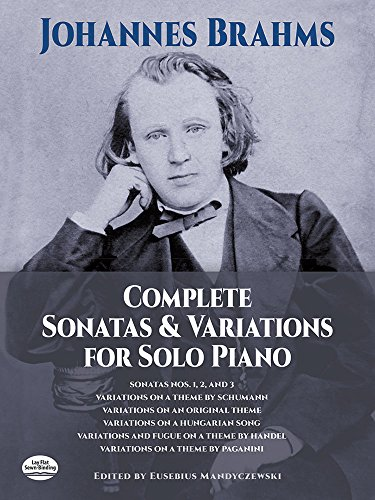 9780486226507: Complete Sonatas and Variations for Solo Piano (Dover Music for Piano)