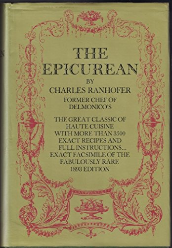 9780486226804: The Epicurean, a Complete Treatise of Analytical and Practical Studies on the Culinary Art, Including Table and Wine Service ... and a Selection of I
