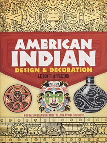 9780486227047: American Indian Design and Decoration (Dover Pictorial Archive)