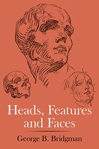 9780486227085: Heads, Features and Faces (Dover Anatomy for Artists)