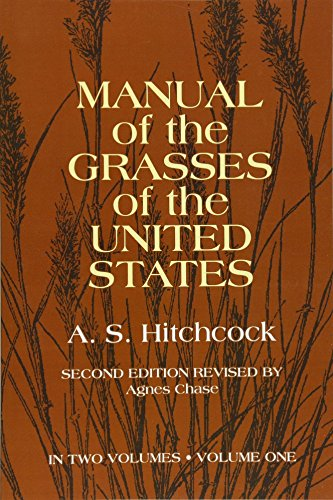 9780486227177: Manual of the Grasses of the United States Volume 1