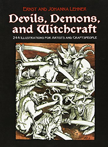 9780486227511: Devils, Demons, and Witchcraft: 244 Illustrations for Artists and Craftspeople
