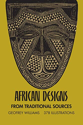 9780486227528: African Designs from Traditional Sources