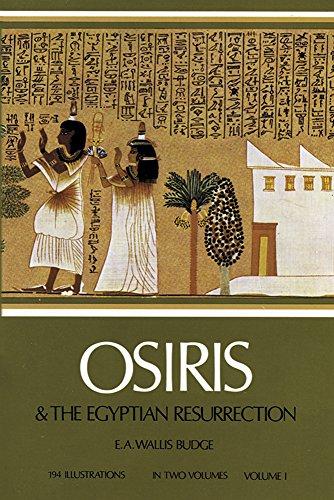 9780486227801: Osiris and the Egyptian Resurrection, Vol. 1