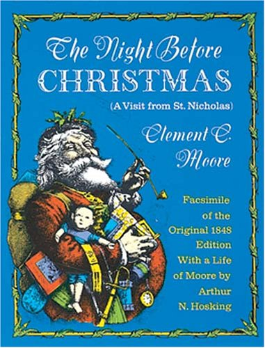 The Night Before Christmas (Dover Facsimile Series of Children's Classics): Moore, Clement C.