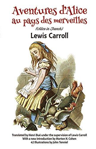 Aventures d'Alice au Pays des Merveilles (Dover: Lewis Carroll