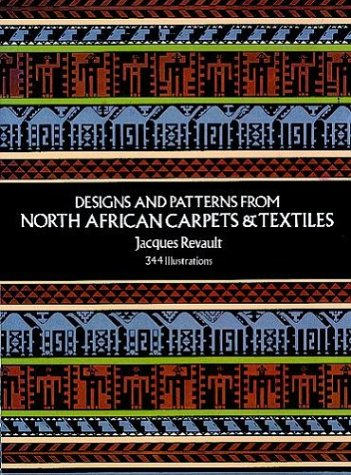 9780486228501: Designs and Patterns from North African Carpets and Textiles (Dover Pictorial Archive Series)