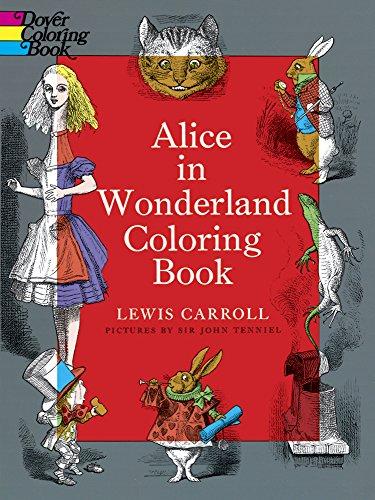 9780486228532: Alice in Wonderland Coloring Book