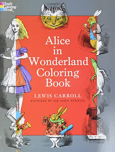 9780486228532: Alice in Wonderland Coloring Book (Dover Classic Stories Coloring Book)