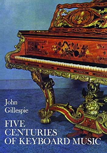 9780486228556: Five Centuries of Keyboard Music (Dover Books on Music)