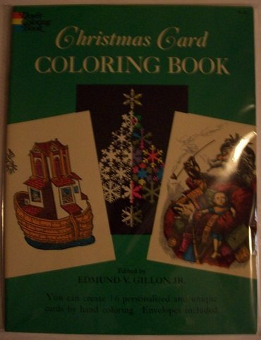 9780486228686: Christmas Card Coloring Book (Dover Coloring Book)