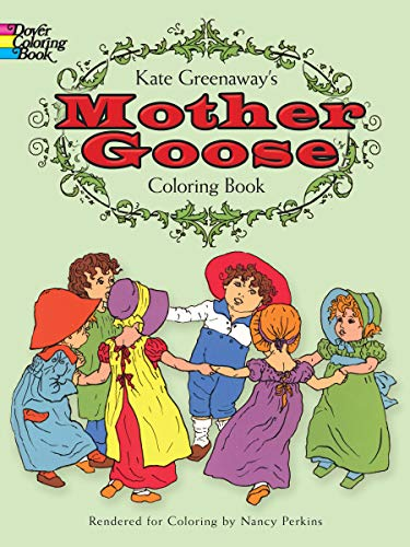9780486228839: Kate Greenaway's Mother Goose Coloring Book (Dover Coloring Books)