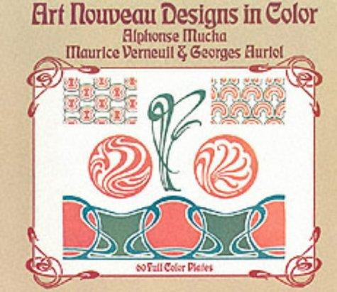 9780486228853: Art Nouveau Designs in Color