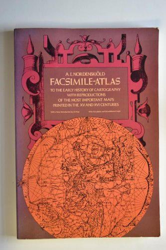 9780486229645: Facsimile-Atlas to the Early History of Cartography With Reproductions of the Most Important Maps Printed in the XV and XVI Centuries