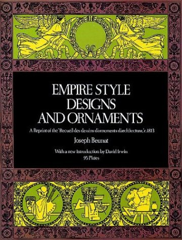 9780486229843: Empire Style Designs & Ornaments (Picture Archives)