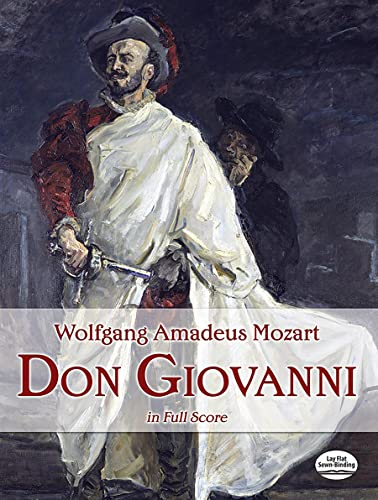 Don Giovanni. Complete Orchestral and Vocal Score. German and Italian.