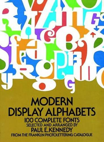 9780486230979: Modern Display Alphabets (Dover Books on Lettering, Graphic Arts & Printing)