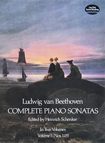 9780486231341: Ludwig Van Beethoven Complete Piano Sonatas Volume 1 (Nos. 1-15)