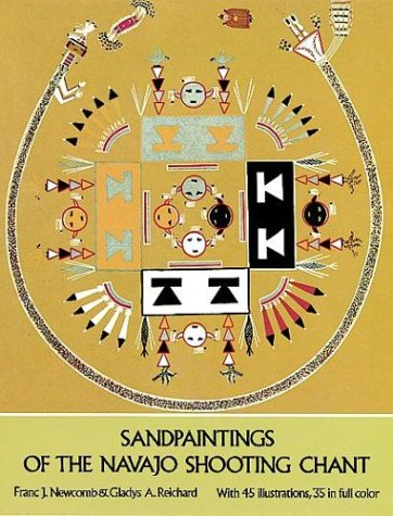 9780486231419: Sandpaintings of the Navajo Shooting Chant