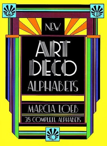 9780486231495: New Art Deco Alphabets (Dover Pictorial Archive Series)