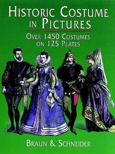 Historic Costume in Pictures over1450 costumes on 125 plates